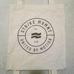 Str/ke MVMNT Strike Movement Canvas Tote Backpack